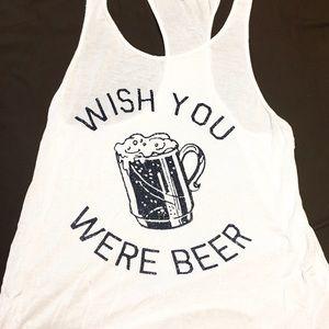 Tops - Wish You Were Beer tank